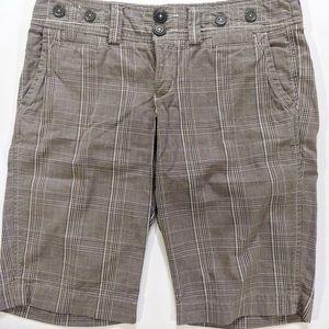 AEO Tartan Bermuda Shorts